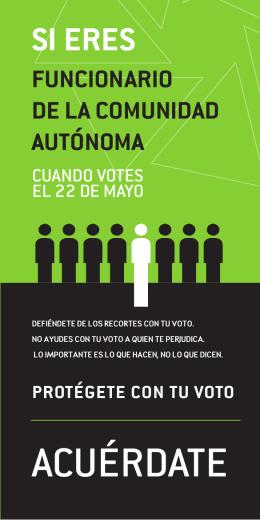 folletos campaña