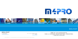 Catálogo m4PRO ERP - Soluciones Empresariales Grupo Trevenque
