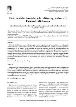 Descargar este fichero PDF - Biológicas Revista de la DES Ciencias