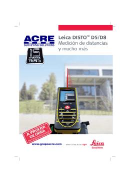 Leica DISTO - Equipos de Topografía | Colombia