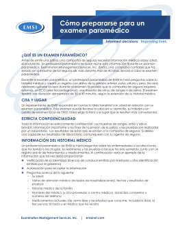 EMSI What is a Paramed Spanish Portrait E0099 -v2 Page 1 12