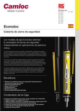P5032 Camloc Econoloc A4 2pg leaflet_SPA_latest.indd