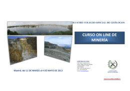 Curso Online de Minería