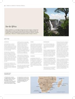 Sur de África - Comoviajar.com