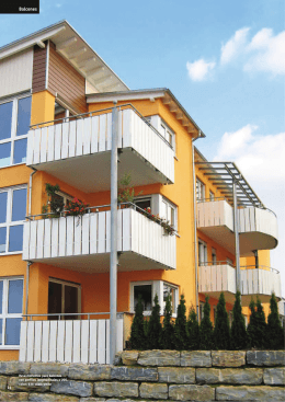 Gama colores balcones Werzalit