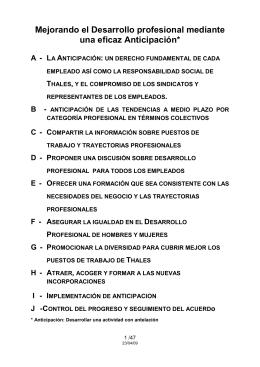 SPANISH _27 Abril 09_ -- Desarrollo Profesional