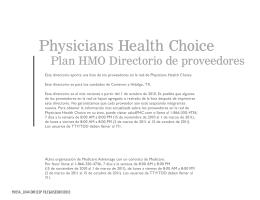 Physicians Health Choice