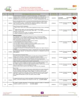 Noviembre - Transparencia - Gobierno del Estado de Hidalgo