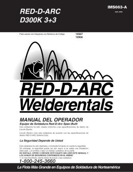 Manual Del Operador - Red-D