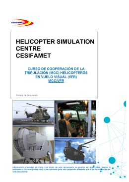 Descargar folleto del curso MCC VFR
