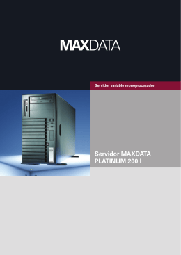 Servidor MAXDATA PLATINUM 200 I
