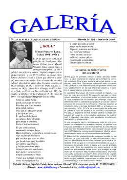 Galeria junio 2009 - Club del Libro en Español