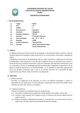 38. DIAGNOSTICO EMPRESARIAL(R)