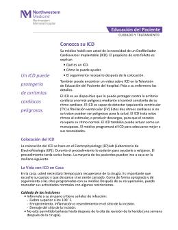 Conozca su ICD - Northwestern Medicine