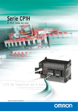 CP1H-Series Folleto