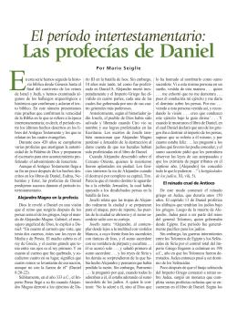 Daniel Profecias