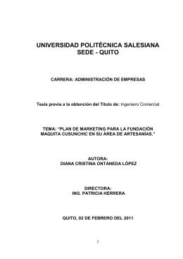 CAPITULO I - Repositorio Digital-UPS