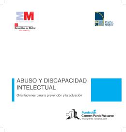 Guía: Abuso y discapacidad intelectual