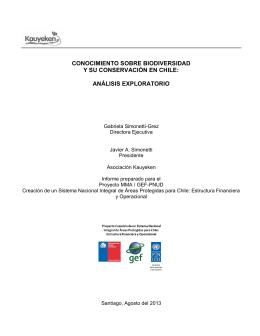 pdf 544 kb - Creación de un Sistema Nacional de Áreas Protegidas