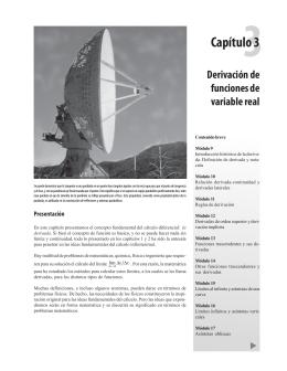 Capítulo 3 - Instituto de Matemáticas