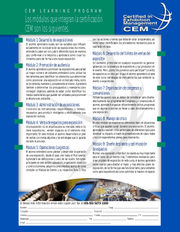 INSCRIBETE CEM PROGRAM LEARNING