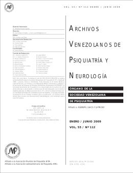 Descargue PDF - Sociedad Venezolana de Psiquiatría