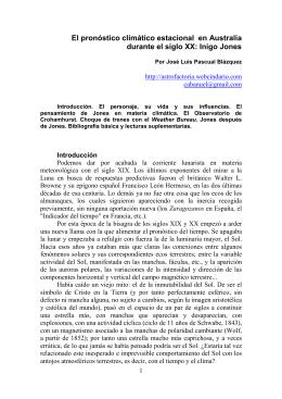 una teoría físico-matemática (lunar) - Astrometeorología