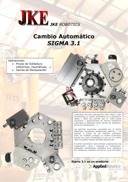 Cambio Automático SIGMA 3.1