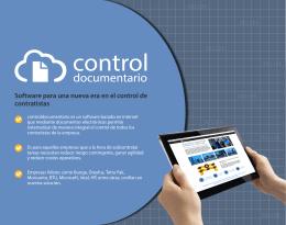 Software para una nueva era en el control de contratistas