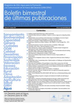 Boletín bimestral de últimas publicaciones 24