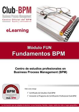 Folleto-FUN- Modulo-Fundamentos - Club-BPM