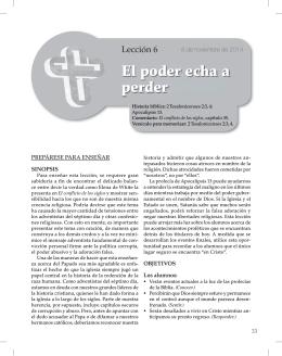 Auxiliar JUVENILES 4T2014 - Recursos Escuela Sabática