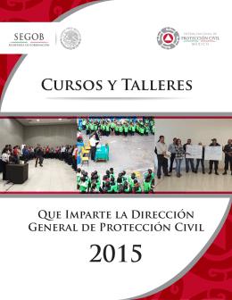 Catálogo de cursos que imparte la Dirección