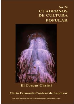 CORPUS CHRISTI - Centro de Documentación CIDAP
