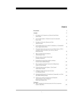 Revista VOX JURIS 13 - Facultad de Derecho
