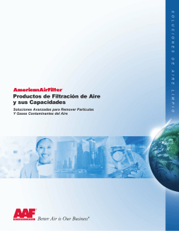 Air Filtration Capabilities - Spanish Version