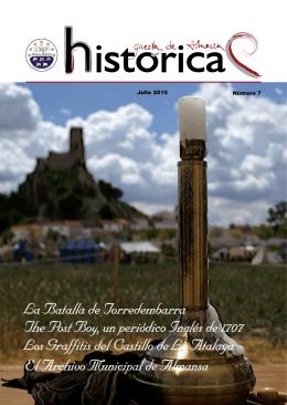 El Archivo Municipal de Almansa The Post Boy, un periódico Inglés