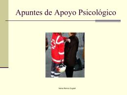 apoyo psicologico - Curso de ATA en Corella