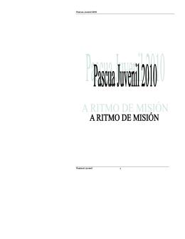 Pascua Juvenil 2010 Pastoral Juvenil