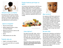 WIC Outreach Brochures – Spanish