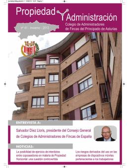 Revista nº 41 - Invierno 2013 - Colegio de Administradores de