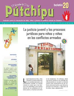 La justicia juvenil y los procesos jurídicos para niños y niñas en los