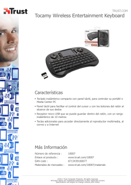 Tocamy Wireless Entertainment Keyboard