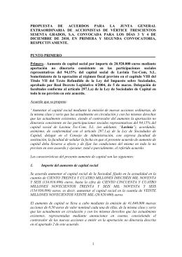 Propuesta de Acuerdos de JGE 2010 VÉRTICE 360