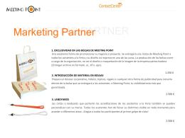 MARKETING PARTNER Marketing Partner