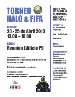 TORNEO HALO & FIFA