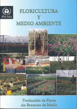 Floricultura y Medio Ambiente