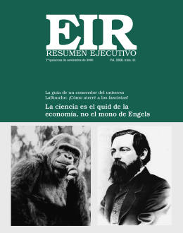 RESUMEN EJECUTIVO - Executive Intelligence Review