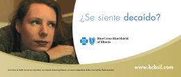 ¿Se siente decaído? - Blue Cross and Blue Shield of Illinois