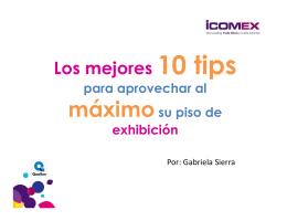 Tip # 4 - ibtm latin america